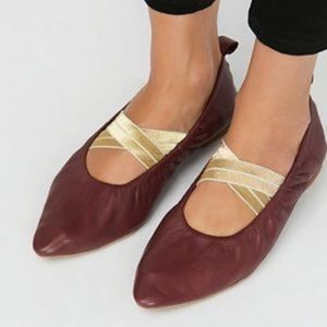 Free People Solitaire Pointed Ballet Flats